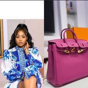 Lilian Afegbai Gifts herself a Birkin bag worth 10 Million Naira (Photos)