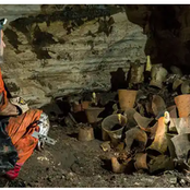 Hidden Cave Uncovered in Mexico has Strange Contents within