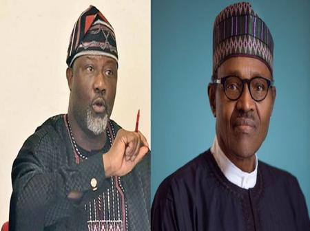 Dino Melaye calls on President Buhari to transfer power to Osinbajo before UK trip