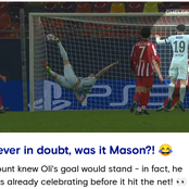 Mason Mount celebrated Giroud's goal before it got into the net (photos)