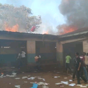 Fire Blazes Several Classes in Riruta Primary Late Sunday Evening