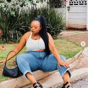 Thickleeyonce who is known as Boity Thulo's cousin left fans speechless with her recent pictures.