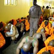 Another prison turned into a war zone.