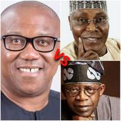 Tinubu, Atiku And Peter Obi, Who Do You Prefer To Be President Come 2023?