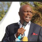 Gideon Moi Makes the Following Move Ahead of 2022 Polls