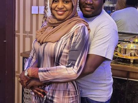 This Is What Fati Ladan's Husband Said About Her That Caused Reactions