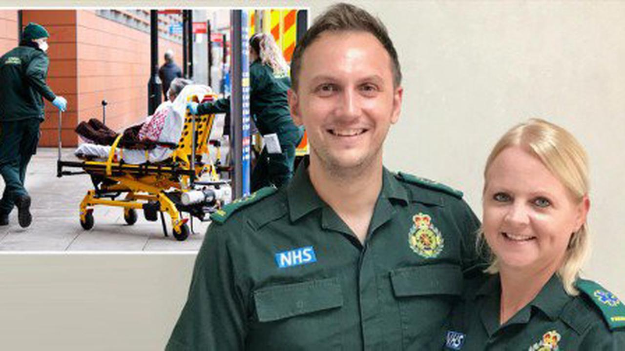 Married paramedics among hundreds to land free holiday for frontline Covid fight