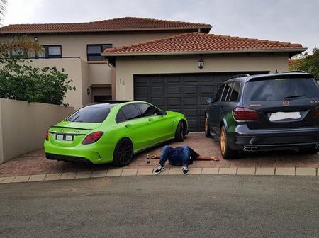 Heavy K show off His Cars Drumboss