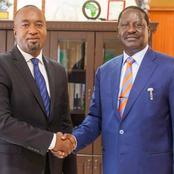 Raila Joins Joho To oppose Kingi's Coast Party Push