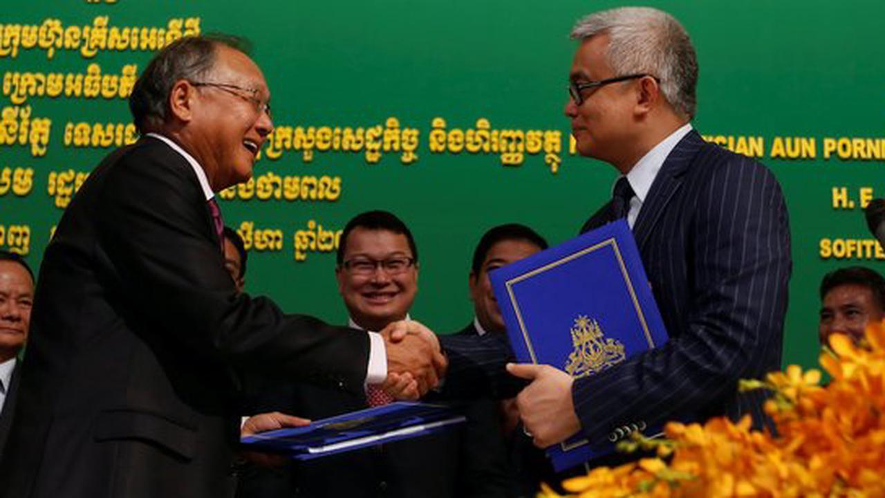 Cambodia in turn becomes an oil producing country