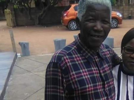 Nelson Mandela is back from heaven- South Africa reacts to the photos of a man who looks like Madela