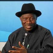 2023: Ex President Jonathan Breaks Silence, Reveals His Intension Ahead Of 2023 General Election.