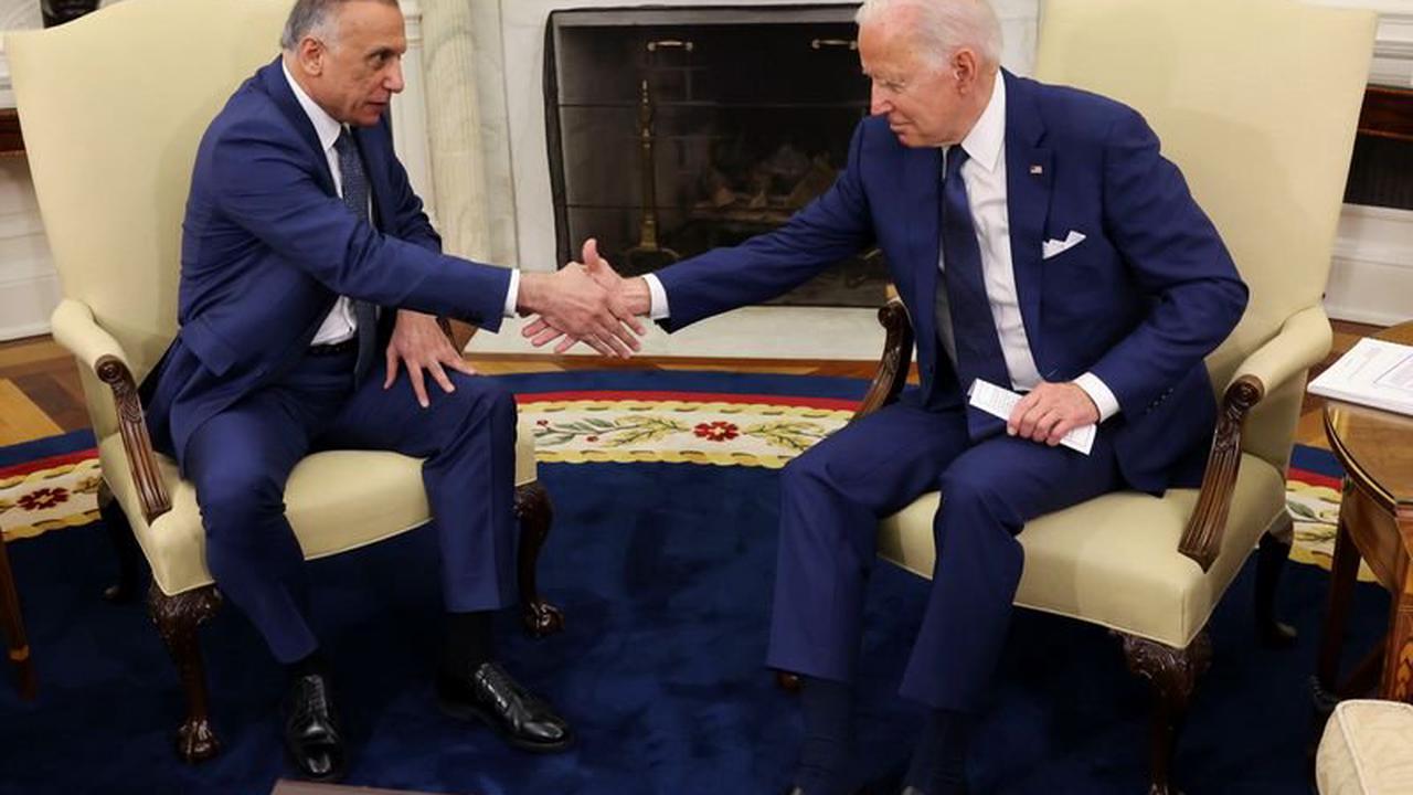 Joe Biden signe l'accord mettant fin à la mission de combat US en Irak