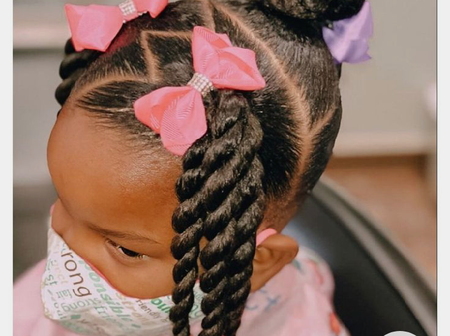 Sweet Mothers, Your Daughters Can Look Smart With These Beautiful Hairstyles For Little Girls