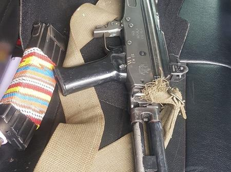 Illegal Rifle on The Hands of Protesting Students in Johannesburg, Is This the Beginning of War?