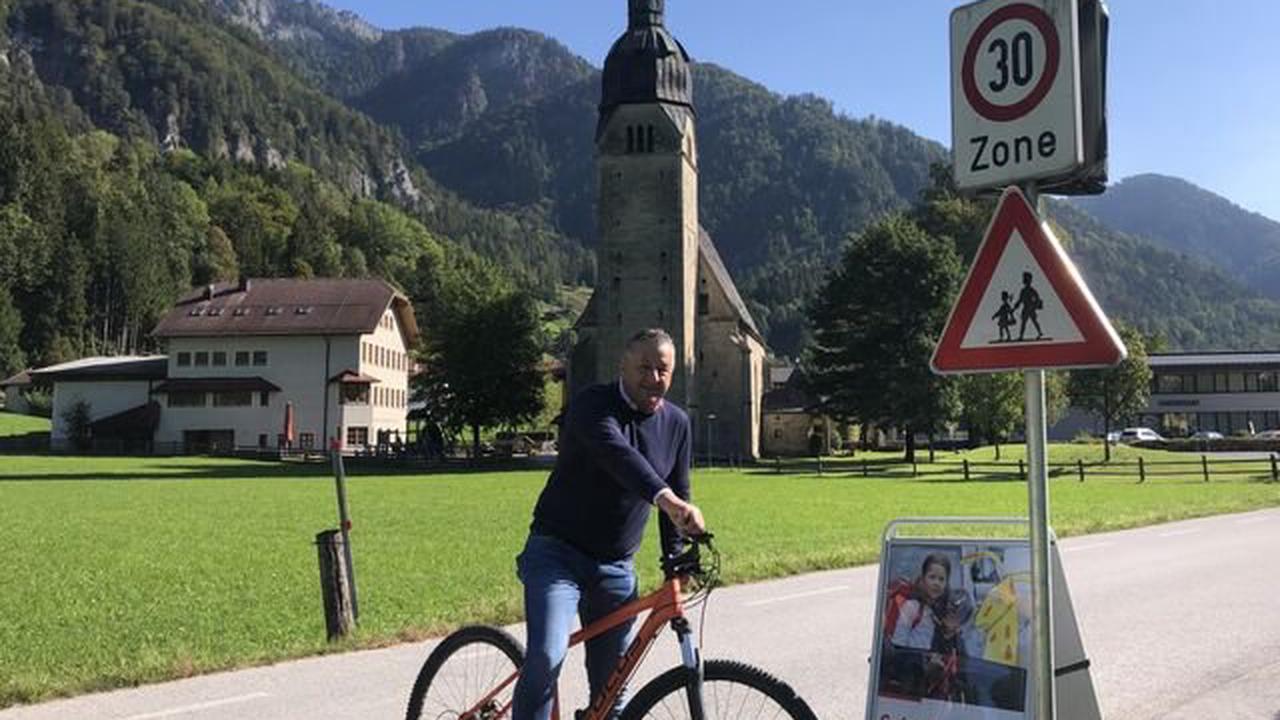 Weil zu viele Radfahrer rasen: Gemeinde Scheffau setzt Tempolimit