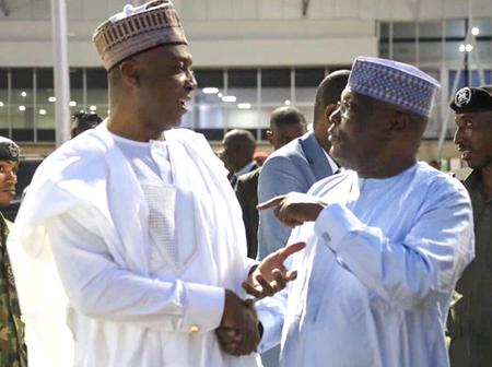 As Atiku Abubakar Celebrates His 74th Birthday, Check Out The Message Bukola Saraki Sent To Him.