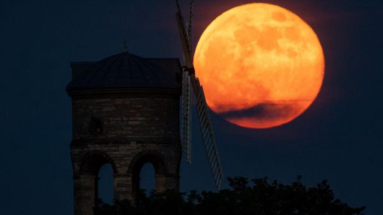 Everything you need to know about the Strawberry Supermoon 2021