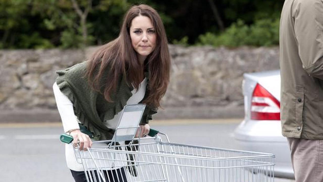 Royal mum Kate Middleton's 'normal' life of takeaways and shopping at the Range