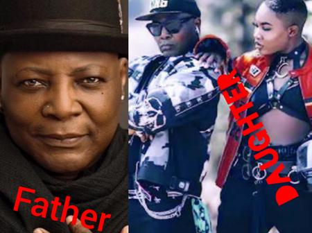 Charly Boy's Daughter Blasts Him Hours After Tweeting About Her, See What She Said To Her Him