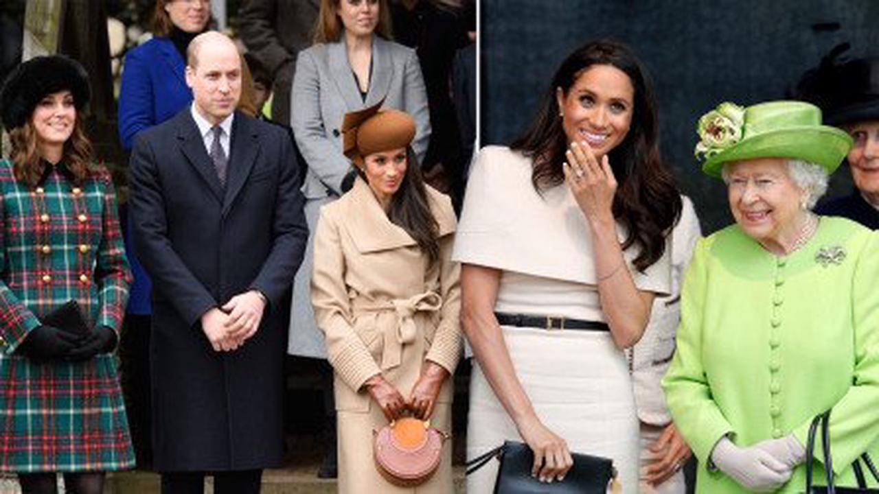 William and Kate join Queen with birthday tributes to Meghan as she turns 40