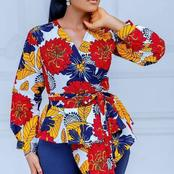 Spice Up Your Outfits With These Super Stylish Ankara Print Tops