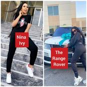 Reality Star, Nina Ivy Gets A Range Rover As Gift From Her Husband(Photos+Video)