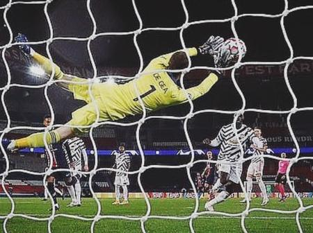 Man Utd react to De Gea's statement after winning the man of the match in his team's win over PSG