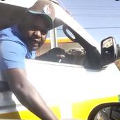 Good Job! DCIs Arrest Rogue Driver Minutes After A Video Of Him Harrasing A Woman Went Viral