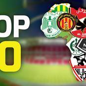 Voici le classement des meilleurs clubs d'Afrique