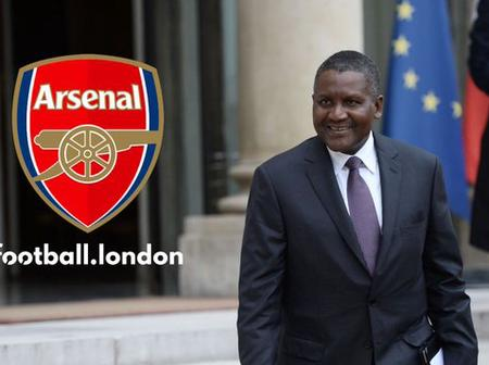 Dangote Set To Resume Arsenal FC Takeover Talks