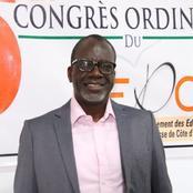 5è Congrès ordinaire du GEPCI : élu, Zohoré remercie Patrice Yao et son bureau sortant