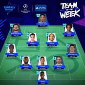 Olivier Giroud misses out as UEFA publish team of the week. See photos