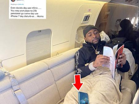 Check Out What A Fan Noticed In A Photo Davido Posted On Twitter That Caused An Argument
