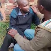 Panties Rober In Nandi County Escape Death by Whisker As Angry Residents Bay For His Blood