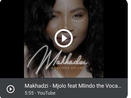 MAKHADZI talks about Mjolo in her new hit song