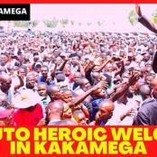 Ruto Brings Kakamega to A Standstill