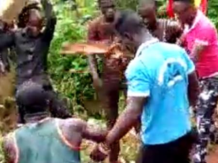 Another Soldier Beaten At Swedru.