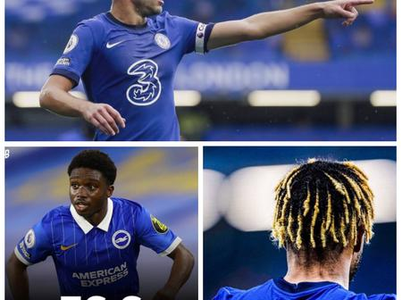 Chelsea News Ahead Of The London Derby: Ziyech, Odoi, Lamptey, Cesar And Cole Involved
