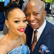 Julias Malema's wife Mantoa Malema wished her husband a happy birthday.