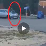 Kid In A Toy-Car Dies Instantly After Colliding Into A Stationary Vehicle