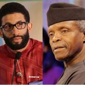 Mixed Reactions As Buhari's Aide Says He Would Die Happy If He Could Be Like Osinbajo
