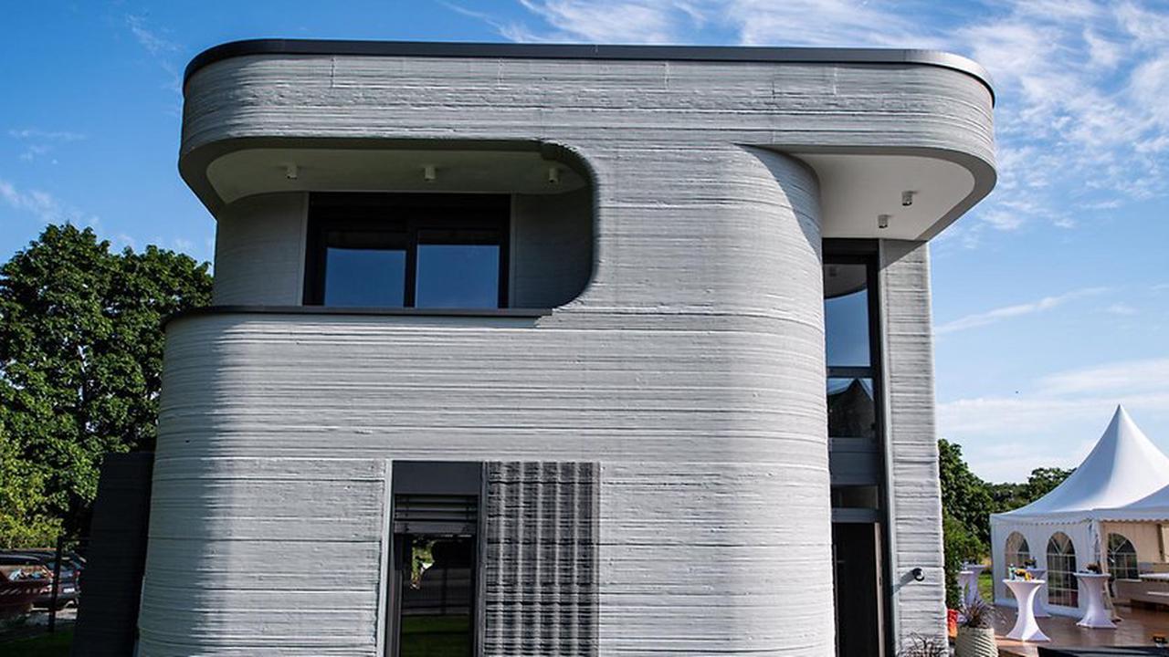 """""""Vorbildfunktion"""": In Beckum steht das erste deutsche Haus aus dem 3D-Drucker"""
