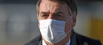 Brazil President Jair Bolsonaro Wears Mask at Last After Testing Positive For COVID-19