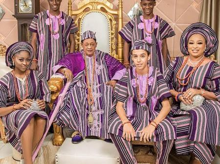 See What A Fan Of K1 Said About HRM Oba Adeyemi Lamidi And His Wives