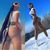 See the picture Ex-Bbnaija housemate, Khloe, released that got people talking