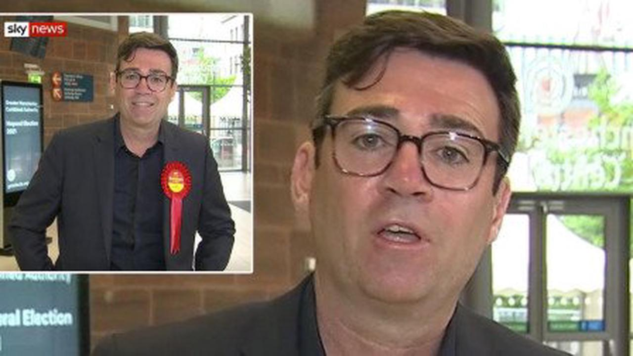 'King of the North' Andy Burnham hints at Labour leadership bid