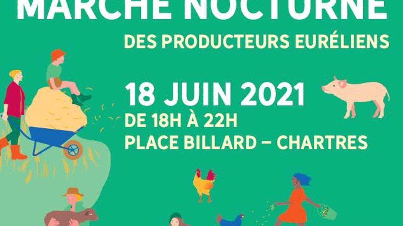 Les producteurs d'Eure-et-Loir se donnent rendez-vous à Chartres pour un marché nocturne vendredi 18 juin