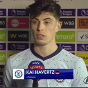 CRY 1-4 CHE: Check What Havertz Said After Scoring His Second EPL Goal Today