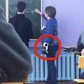 People noticed something absurd with the teacher in the classrooms